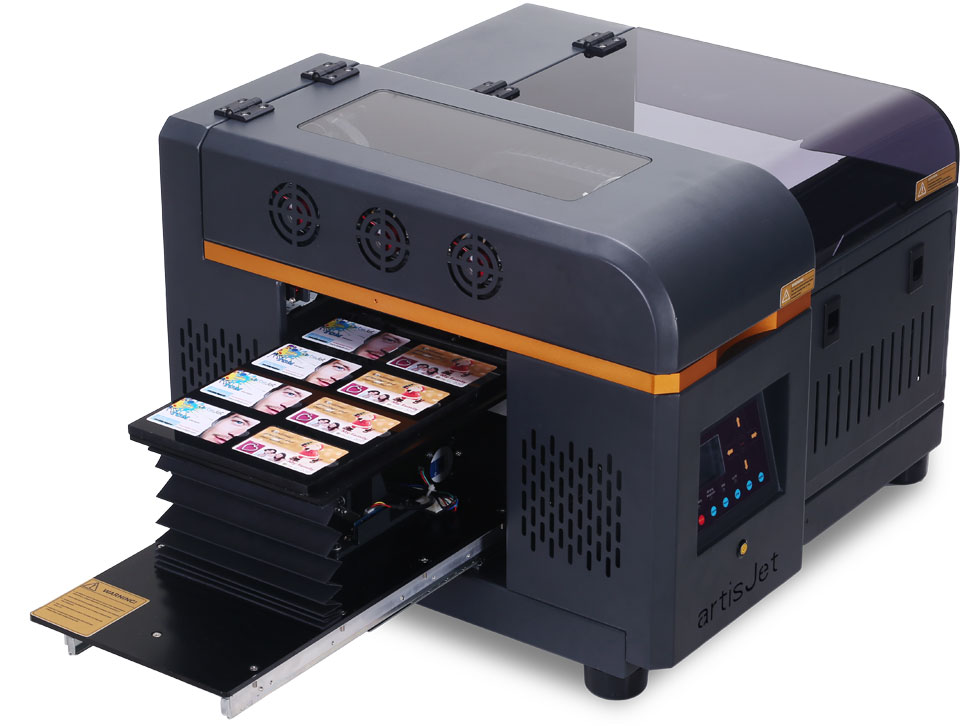 Artisjet 2100u A4 Format Mini Uv Printer