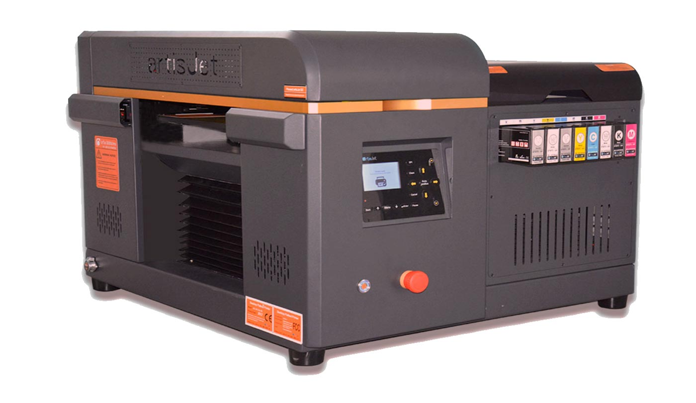 Artis 3000 small format uv flatbed printer for Bed tech 3000