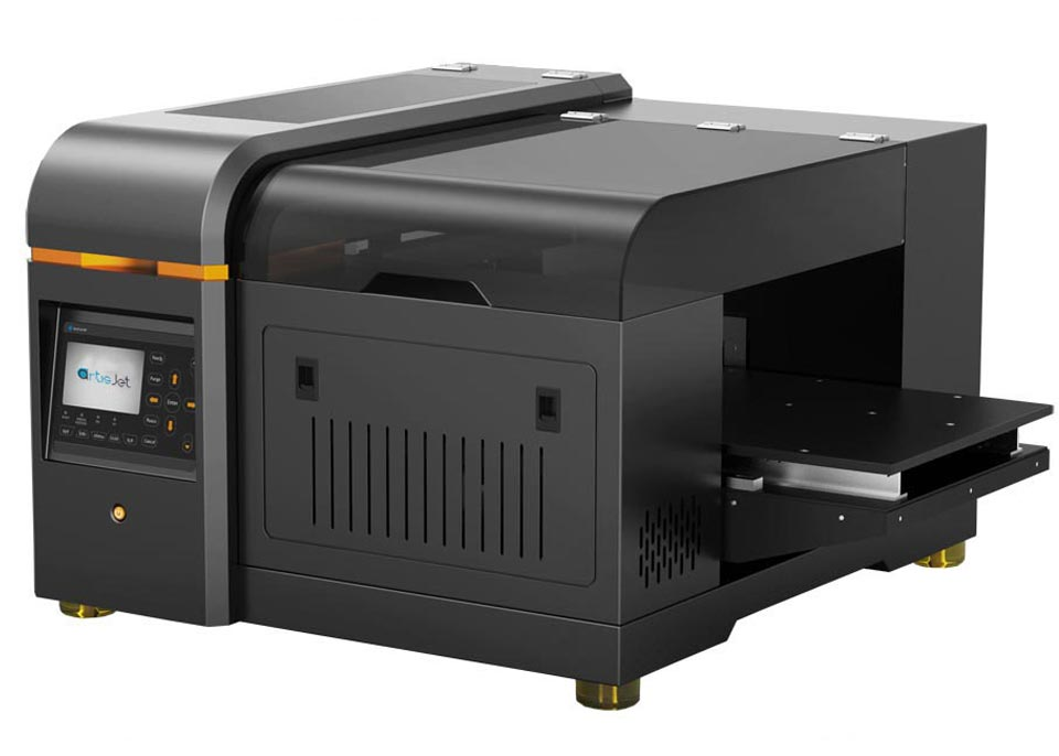 The new A3+ small format UV LED flatbed printer