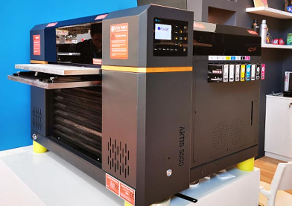 small LED UV production printer