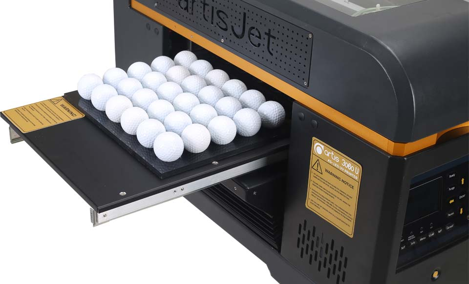 Custom Golf Ball Logo Printer Golf Tee Uv Printer