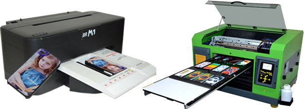 BR-S1800 and M1 phone case printer