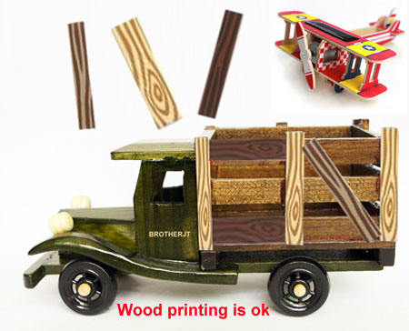 wood toy bricks print