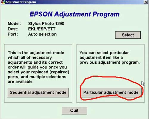 Epson adjustment program px660 rar