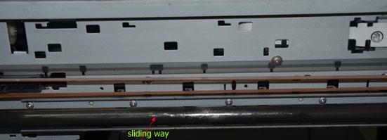 sliding way