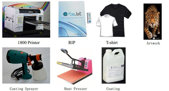 t-shirt printing preparation