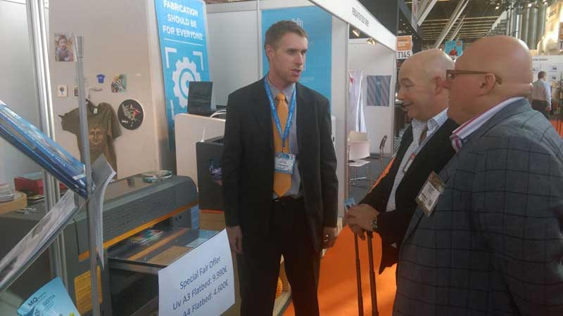 Brotherjet show at FESPA Amsterdam 2016 1